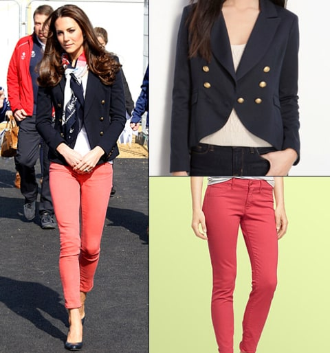 kate middleton jeans blazer