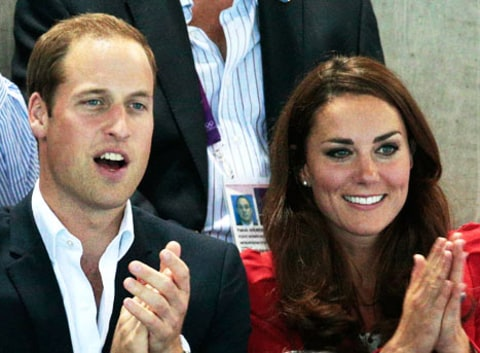Kate Middleton Prince William Close up