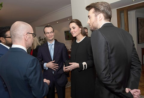 Kate Middleton at Luncheon