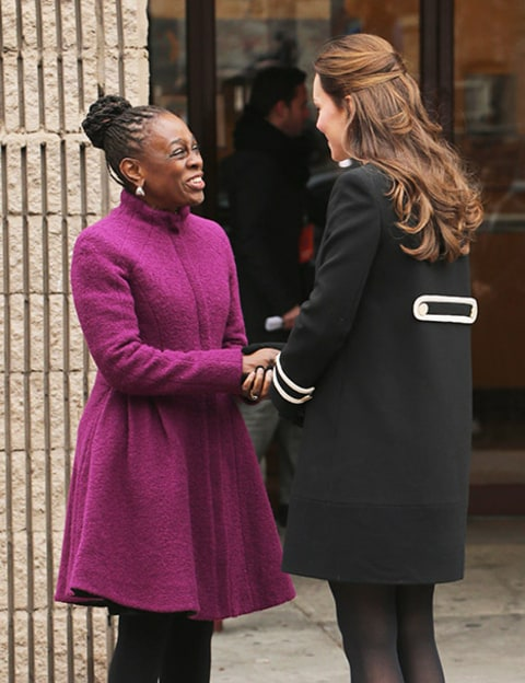Kate Middleton and NYC Mayor's wife