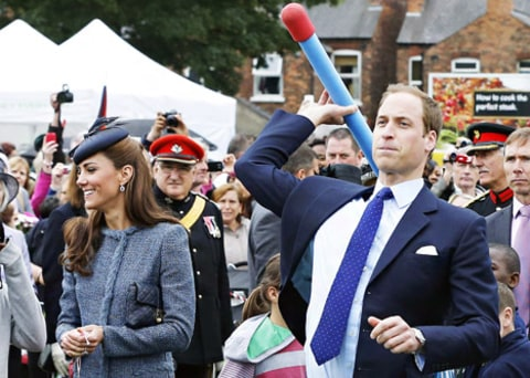 prince william nerf rocket