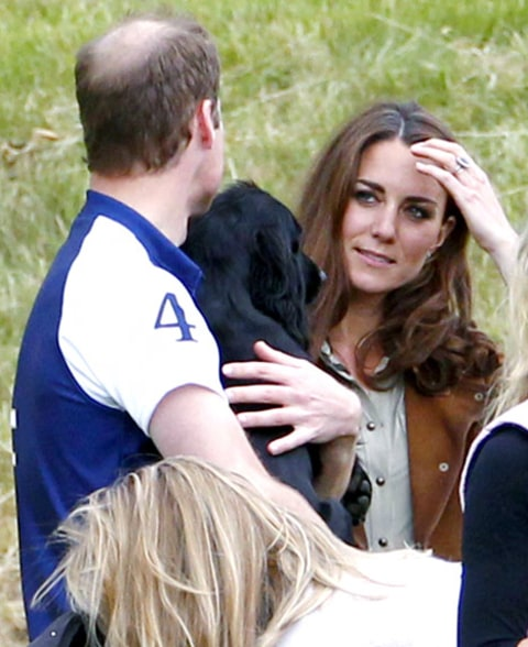 prince william snuggling lupo