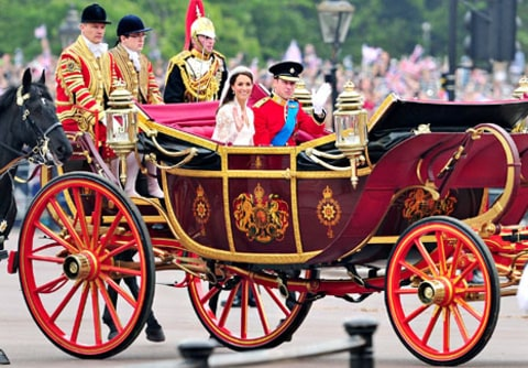 william and kate carriage wedding