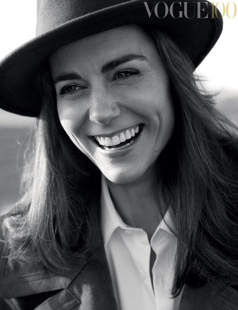 HRH The Duchess of Cambridge covers British Vogue.