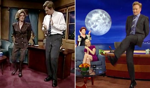 kate mulgrew and conan irish jig