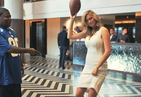 Kate Upton Touchdown Dance