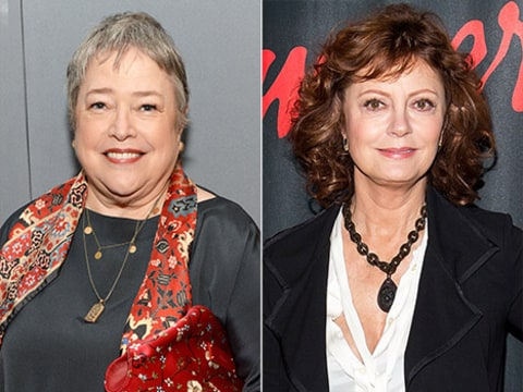 Susan Sarandon and Kathy Bates