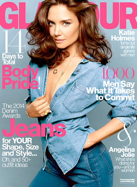 Katie Holmes - Glamour Cover