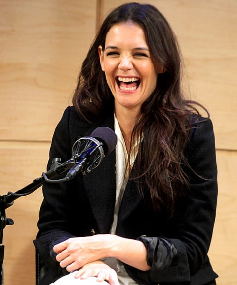 Katie laughing