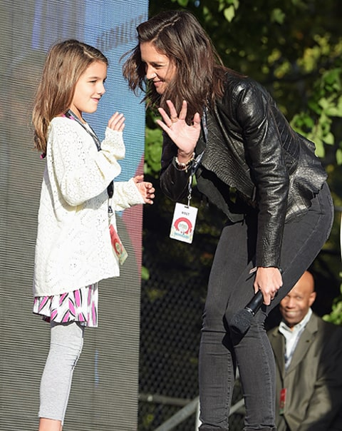 suri at the 2015 Global Citizen Festival