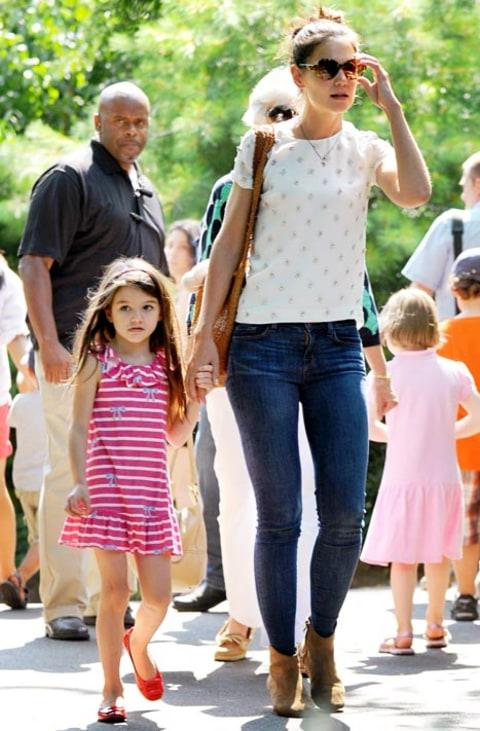 Katie Holmes, Suri Head to Central Park Zoo - Us Weekly Katie Holmes Divorce