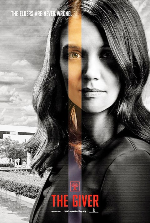 katie holmes the giver