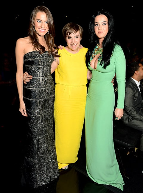allison williams lena dunham katy perry