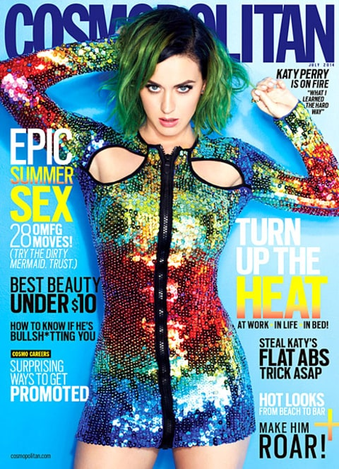 Katy Perry - Cosmo Cover