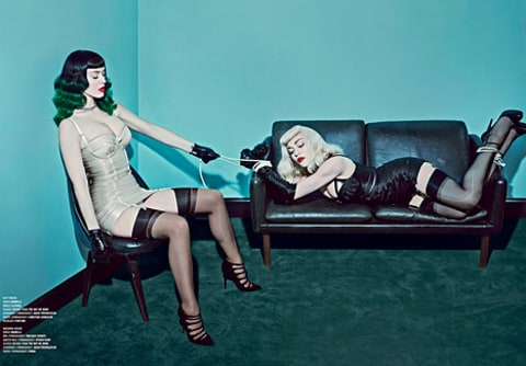 Katy and Madonna - V Magazine