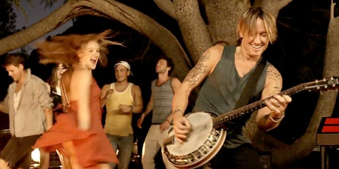 Keith Urban's 'Wasted Time'