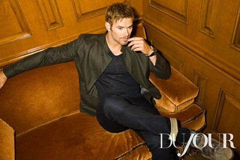 Kellan Lutz in Dujour