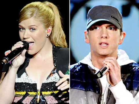 kelly clarkson and eminem