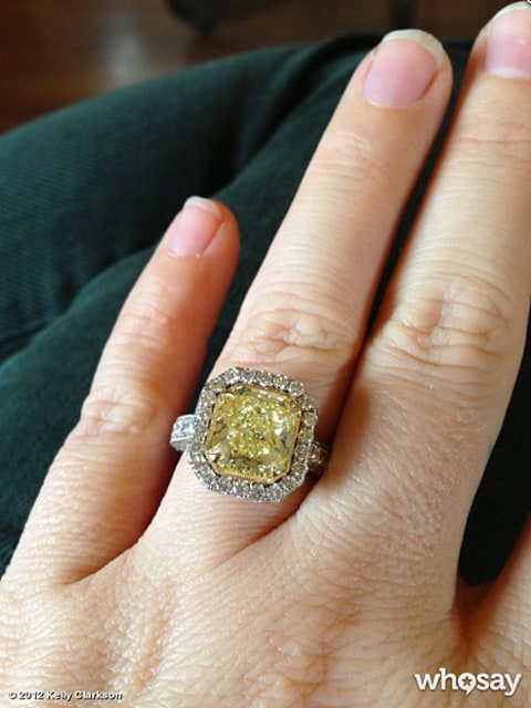 Kelly Clarkson ring
