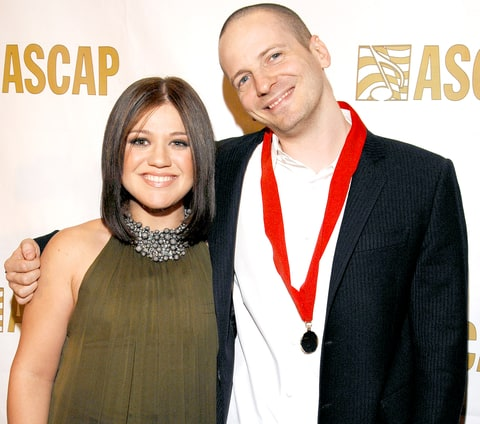 Kelly Clarkson and Lukasz