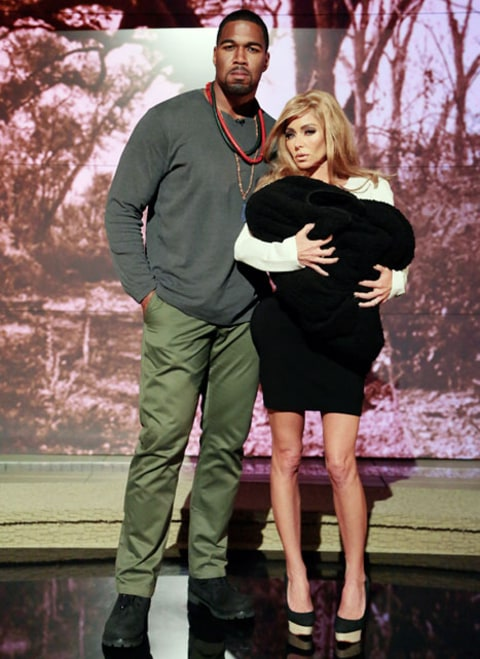 kelly ripa and michael strahan kimye