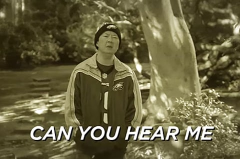 Ken Jeong in FOX NFL's parody of Adele's Hello