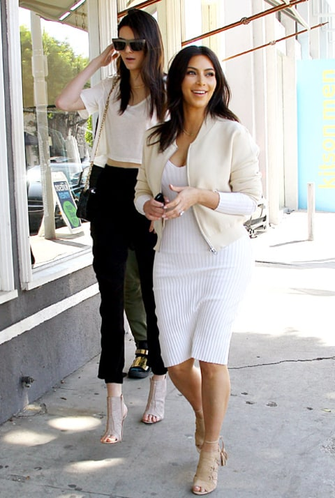 Kendall and Kim shopping