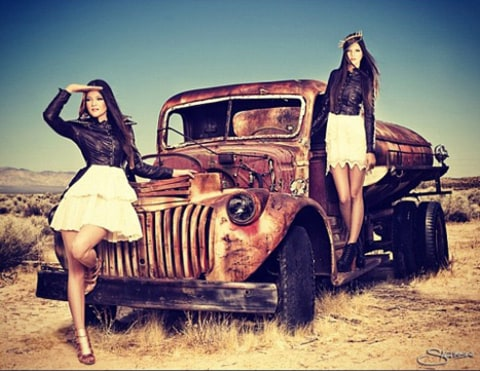 kendall and kylie shoot 1