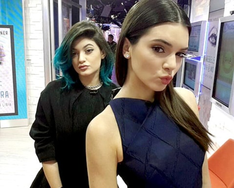 Kendall and Kylie Jenner on GMA