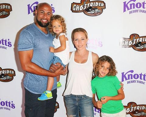 Hank Baskett, Alijah, Kendra Wilkinson and Hank Baskett IV attend the ... Kendra Wilkinson And Hank Baskett Family
