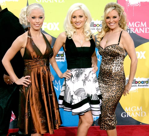 Kendra Wilkinson, Holly Madison and Bridget Marquardt in 2006