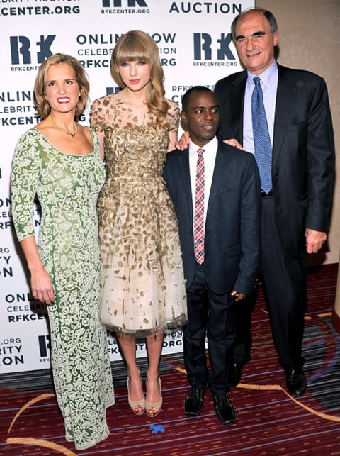 Kerry Kennedy and Taylor Swift