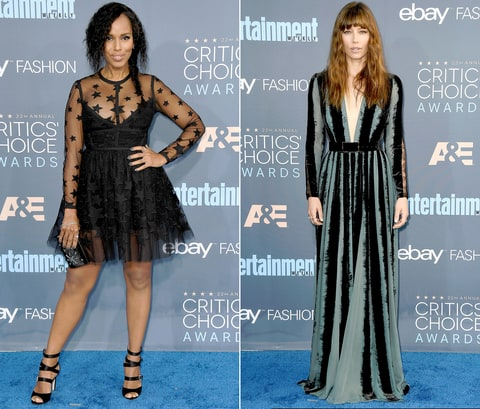 Kerry Washington Jessica Biel
