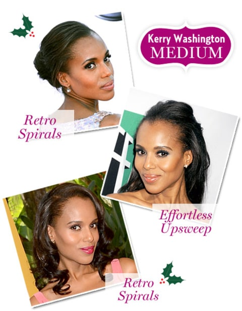 Holiday Hair - Kerry Washington