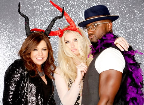 Rachael Ray, Kesha, and Taye Diggs on Hollywood Game Night.
