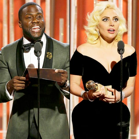Kevin Hart and Lady Gaga