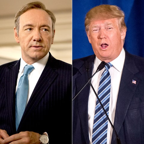 Kevin Spacey on House of Cards and Donald Trump