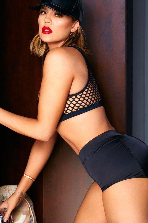 Why Khloe Kardashian Wears Makeup Earrings To The Gym