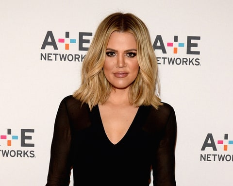 Khloe Kardashian attends the A+E Networks' 2016 Winter TCA.