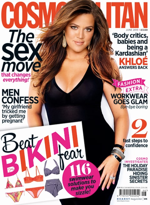 Khloe Cosmo Cover