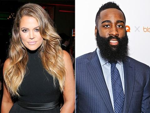 Khloe kardashian steps out with boyfriend james harden in hollywood