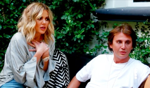 Khloe Kardashian and Jonathan Cheban
