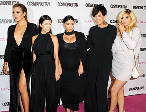 khloe, kourtney, kim, kris, kylie