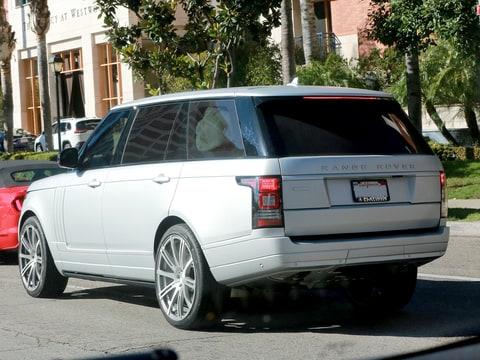 Kim kardashian leaving hospital