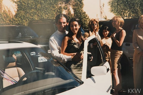 Robert Kardashian Sr. and Kim Kardashian