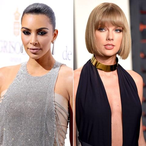 Kim Kardashian, Taylor Swift