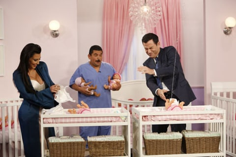 Kim and Jimmy Kimmel diapers