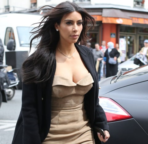 Kim in Paris