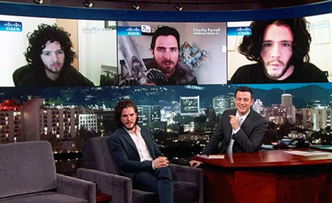 kit harington judges jon snows on kimmel