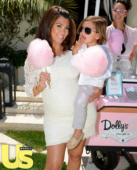 Peek Inside Kourtney Kardashian's Baby Shower! - Us Weekly